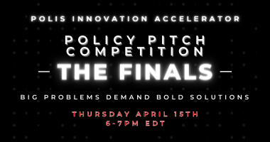 Policy Pitch Competition - The Finals